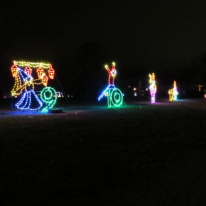 12 Twelve days of Christmas Light Display at TARC Winter Wonderland Topeka Lake Shawnee Campground